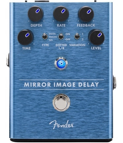 Pedal Delay Guitarra Fender Mirror Image Promoção!