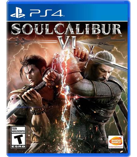 Imagen 1 de 7 de Soulcalibur Vi Formato Físico Ps4 Original