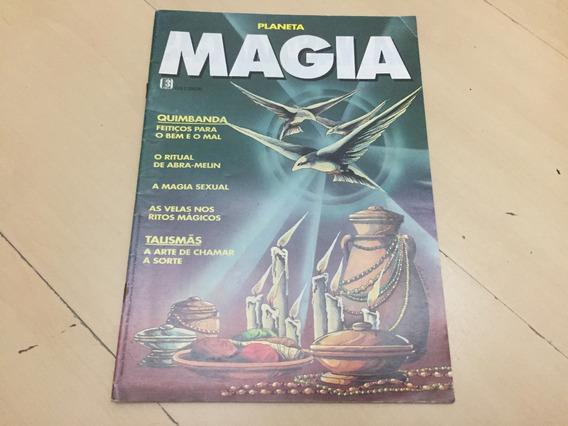 Revista Planeta 1 Magia Quimbanda Ritual Talismã H820
