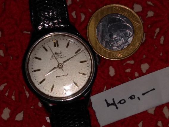 Relógio Coleção Raridade Mido Multifort