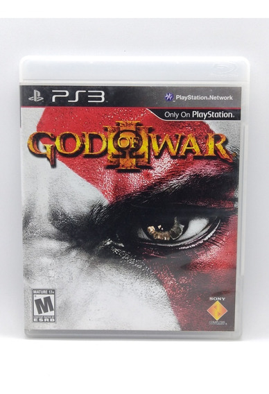 God Of War 3 Ps3 Midia Fisica Jogo Game Play 3 Playstation