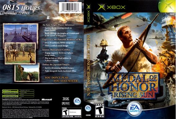 Jogo Medal Of Honor Rising Sun Xbox Classico Antigo
