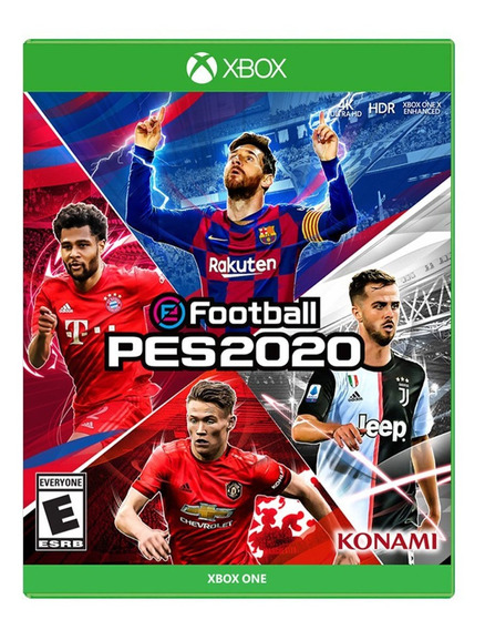 Videojuego Efootball Pes 2020 Deportes E10+ Xbox One