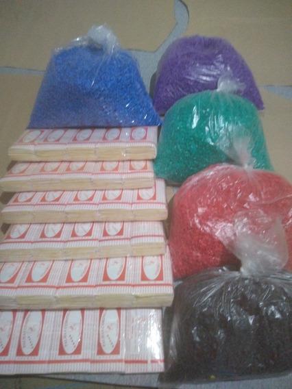 2 Pacotes Palha Para Palheiro + 100 G De Gominhas