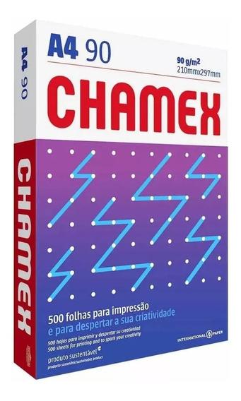 Papel Sulfite A4 90g Chamex Super 1000 Folhas