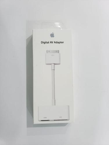 Imagen 1 de 2 de Adaptador De Av Digital 30 Pines Nuevo Apple Original 100%
