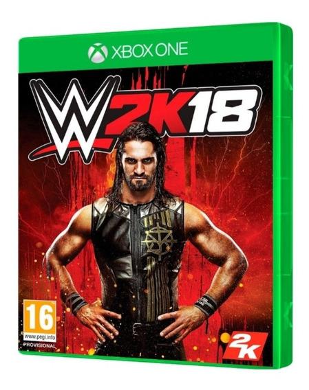 Wwe 2k18 Xbox One Mídia Física Lacrado Original