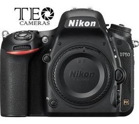 Nikon D750 Corpo - Sem Juros - C/ Recibo - Envio Hoje