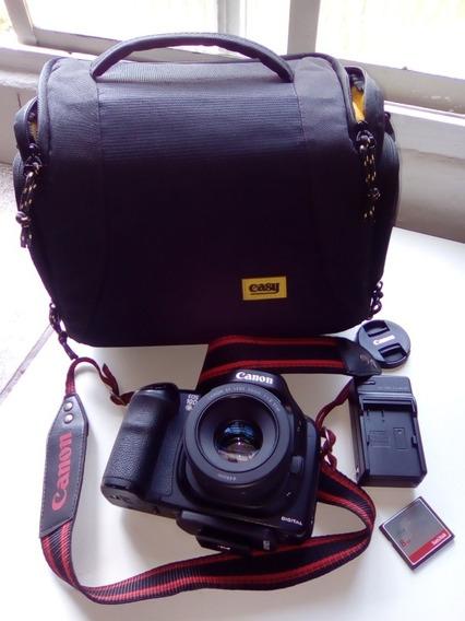 Canon Eos 10d Com Lente 50mm