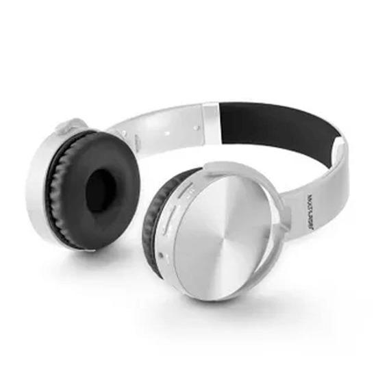 Headphone Premium Bluetooth Sd / Aux / Fm Branco Multilaser