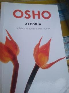Libro Alegria Osho Usado Original Buenas Condiciones