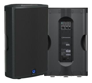 Ftm Caja Potenciada Turbosound Milan M15 1100w 3 Canales Xlr