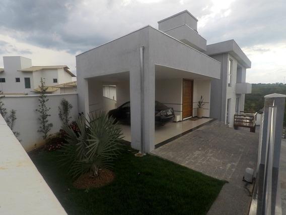 Casa Em Condomínio Com 3 Quartos Para Comprar No Condomínio Trilhas Do Sol Em Lagoa Santa/mg - Blv5174