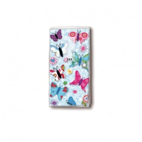 Paper Design Pañuelos De Papel X 10 U. Diseño: Flores