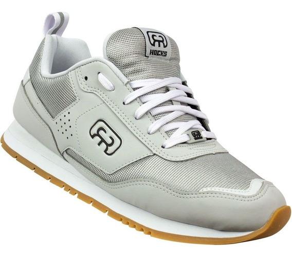 Tênis Hocks Nuv Cinza Sneaker