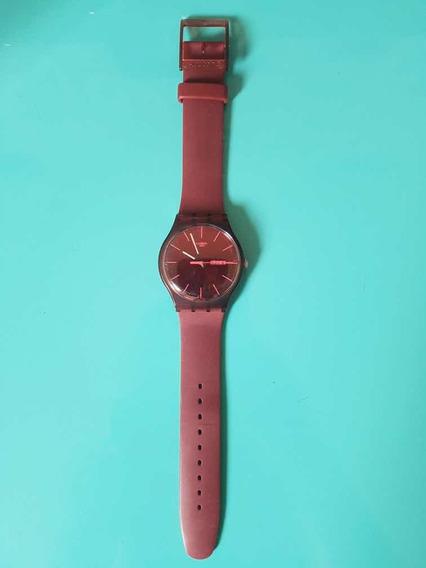 Relógio Swatch Vinho