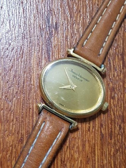 Relógio Jean Vernier Feminino 25x20 Corda