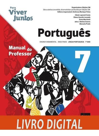 Para Viver Juntos - Língua Portuguesa - Ano 7