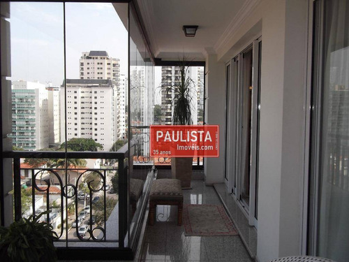 Apartamento Duplex Com 4 Dormitórios À Venda, 400 M² Por R$ 2.955.000,00 - Campo Belo - São Paulo/sp - Ad0282