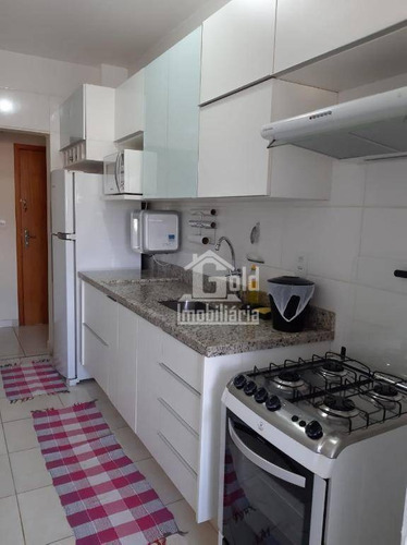 Apartamento Com 2 Dormitórios À Venda, 49 M² Por R$ 185.000,00 - Jardim Paulistano - Ribeirão Preto/sp - Ap3862