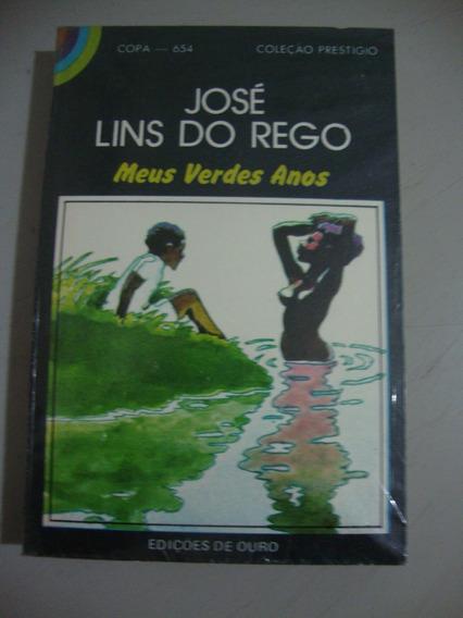Livro Meus Verdes Anos - Autor José Lins Do Rego
