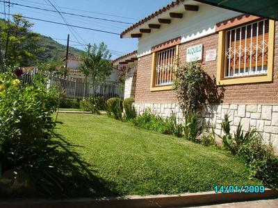 Hermoso Chalet En Villa Carlos Paz P/ 5 Personas, Wifi.