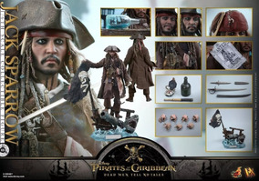 Hot Toys Jack Sparrow Dx15 Hottoys Cx Parda Piratas Do Carib