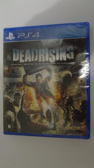 Deadrising Ps4 - Mídia Física - Novo E Lacrado