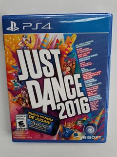 Just Dance 2016 Juego Ps4 Nuevo Y Sellado