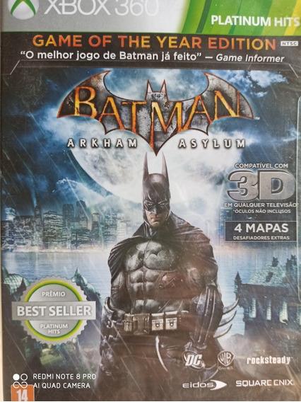 Batman Arkham Asylum Novo Lacrado, Mídia Física