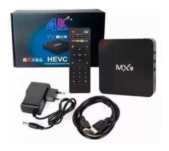 Conversor Smart Tv Box 4gb Ram 32gb Android 9.0 5g