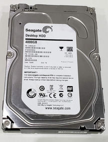 Hd Seagate Desktop 4tb St4000dm000-1f2168 C/ Bad Block