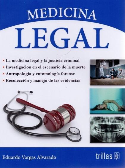 Medicina Legal Vargas Libro Original ¡envío Gratis!