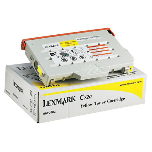 Cart Lexmark 15w0902 Amarillo P/imp C-720 (cailx0902)
