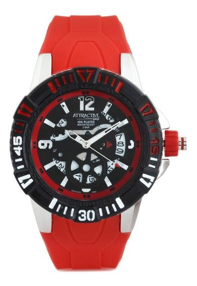 Reloj Q&q Da72j322y Metalico Malla Silicona Watch Fan Locales Palermo Saavedra