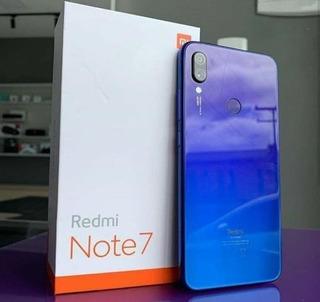 Celular Xiaomi Redmi Note 7 64gb\4gb Ram-azul\frete Grátis