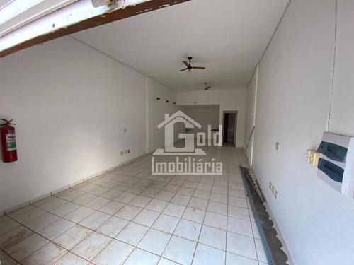Salão Para Alugar, 49 M² Por R$ 1.000/mês - Campos Elíseos - Ribeirão Preto/sp - Sl0195