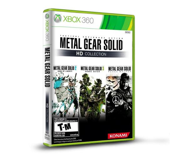 Metal Gear Solid Hd Collection - Original P/ Xbox 360 Novo