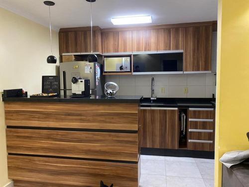 Apartamento, Com Móveis Planejados Para Alugar Em Barueri - 14908
