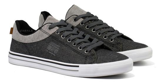 Zapatilla Hombre Amerika Sneakers Urbanas Informal Reforzada