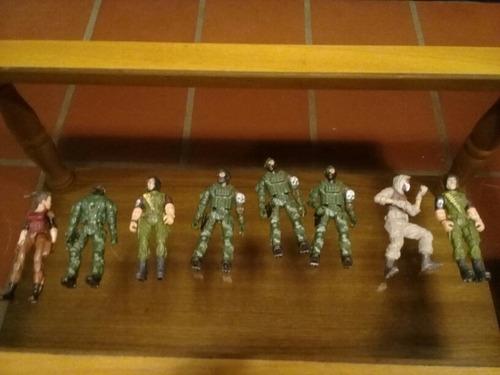 Imagen 1 de 3 de Adventure Force. Juguete Muñeco Soldado Militar Articulado