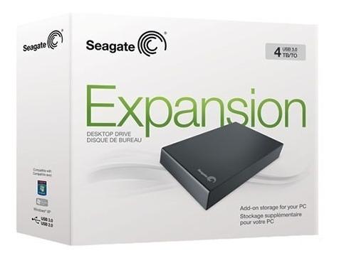 Hd 4tb- Externo Seagate Expancion- Pronta Entrega- Novo!!