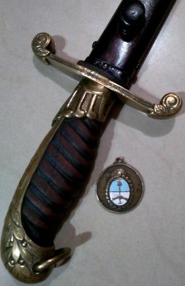Antiguo Sable Couteaux Ejército Argentino. Daga. Bayoneta.
