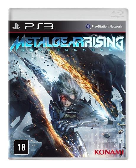 Metal Gear Rising - Ps3 - Lacrado