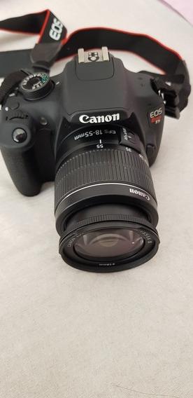 Câmera Canon Eos Rebel T5 Preta
