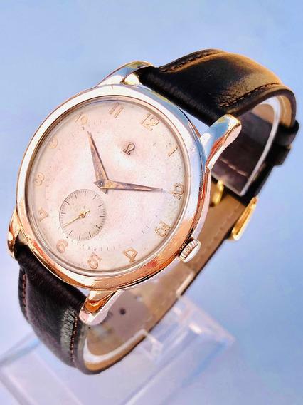 Relógio De Pulso Suíço Omega Calibre 332 Automático Martelo