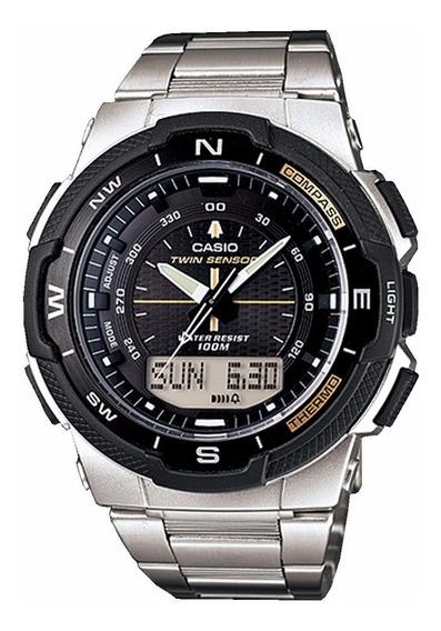 Relógio Casio Outgear Sgw-500hd-1bvdr Duplo Sensor Digi-ana