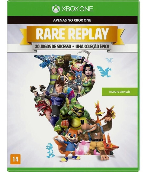 Rare Replay Xbox One | Mídia Física Original