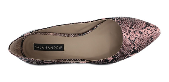 Flats Flat Zapato De Piso Para Dama Mujer Vibora Rosa