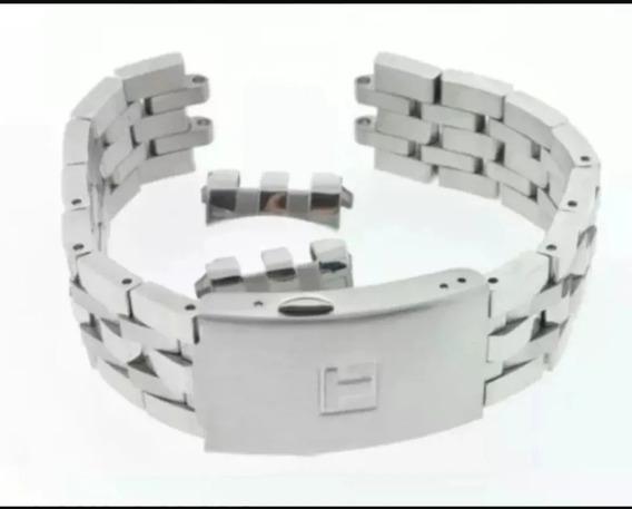 Pulseira Tissot T17 Prc200 T461 Metal Aço Envio Imediato